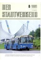 Der Stadtverkehr : August 1981 No 8