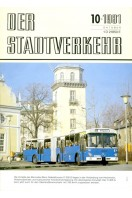 Der Stadtverkehr : Oktober 1981 No 10