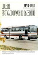 Der Stadtverkehr : November/Dezember 1981 No 11/12