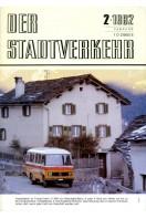 Der Stadtverkehr : Februar 1982 No 2