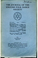 The Journal of the English Folk Dance Society : Second Series No 3 : 1930