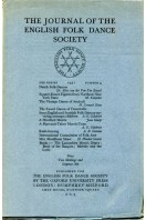 The Journal of the English Folk Dance Society : Second Series No 4 : 1931
