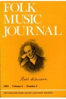 Folk Music Journal : Volume 4 Number 4 - 1983