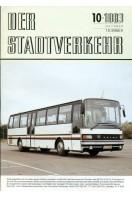 Der Stadtverkehr : Oktober 1983 No 10