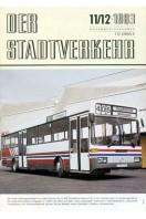 Der Stadtverkehr : November/Dezember 1983 No 11/12