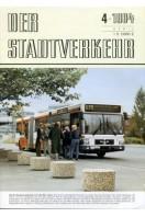 Der Stadtverkehr : April 1984 No 4