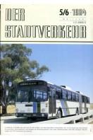 Der Stadtverkehr : Mai/Juni 1984 No 5/6