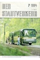 Der Stadtverkehr : Juli 1984 No 7