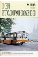 Der Stadtverkehr : September 1984 No 9