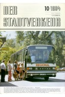 Der Stadtverkehr : Oktober 1984 No 10