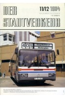 Der Stadtverkehr : November/Dezember 1984 No 11/12