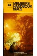 AA Members Handbook 1974/75