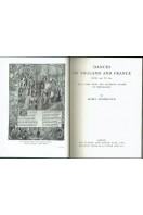 Dances of England and France from 1450 to 1600