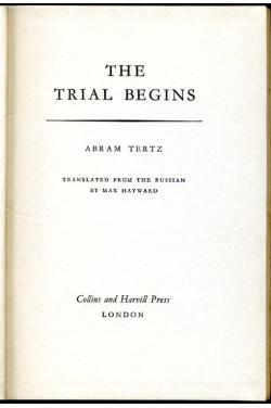 The Trial Begins