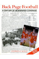 Back Page Football : A Century of Newspaper Coverage