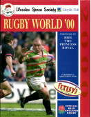 Wooden Spoon Society Rugby World '00