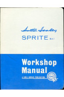 Austin-Healey Sprite Mark 1 (I) Workshop Manual (Part Number 97H1585D)