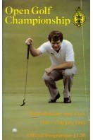Open Golf Championship 1983 : Official Programme