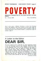 Poverty : CPAG Newsletter 1966