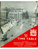 Time Table May 1961 : Manchester Corporation  Transport
