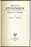 Adlai E. Stevenson : Portrait of a Democrat