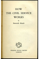 How the Civil Service Works