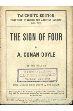 The Sign of Four - in one volume (Tauchnitz edition), Collection of British and American Authors, Vol. 2698