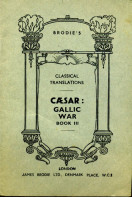 Caesar : Gallic War Book III : Brodie's Classical Translations