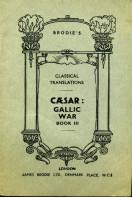 Caesar : Gallic War Book III : Brodie's Classical Translations