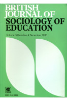 British Journal of Sociology of Education : Volume 16 No 4 December 1995