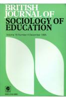 British Journal of Sociology of Education : Volume 16 No 4 December 1995