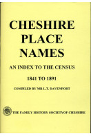 Cheshire Place Names: An Index to the Census 1841-1891