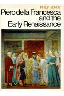 Piero Della Francesca and the Early Renaissance