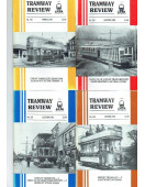 Tramway Review Vol 20 - 1993 - 4 Issues (spring, summer, autumn, winter)