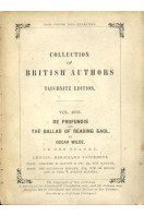 De Profundis and The Ballad of Reading Gaol