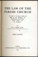 The Law of the Parish Church