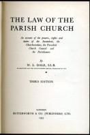The Law of the Parish Church