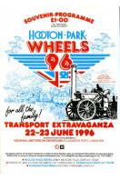 Hooton Park Wheels 96 : Souvenir Programme