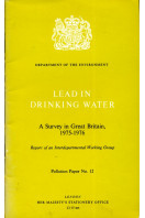Lead in Drinking Water: A Survey in Great Britain, 1975-76 (Pollution paper)