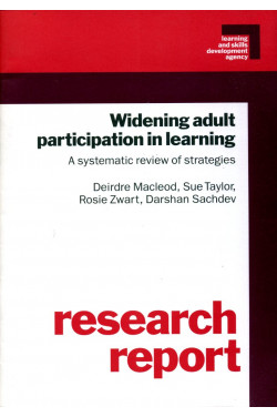 Widening Adult Participation in Learning