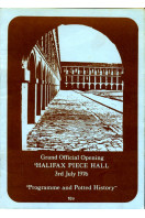 Halifax Piece Hall : Grand Official Opening  : 1976