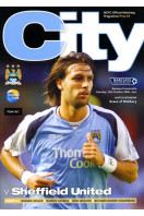 Manchester City v Sheffield United : October 14th 2006 : Official Match Programme