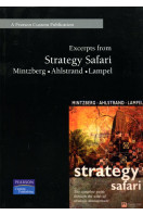 Excerpts from Strategy Safari by Mintzberg, Ahlstrand and Lampel