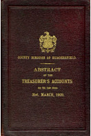 County Borough of Huddersfield : Abstract of the Accunts : Abstract of the Accunts 1909