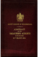 County Borough of Huddersfield : Abstract of the Accunts : Abstract of the Accunts 1912