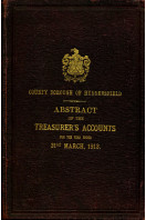 County Borough of Huddersfield : Abstract of the Accunts : Abstract of the Accunts 1913