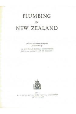 Plumbing in New Zealand