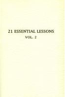 21 Essential Lessons, Vol. 2