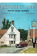Country Life Magazine 1964 Oct 22 : Motor Show Number