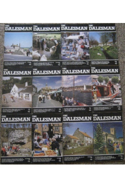 The Dalesman Magazine : 1986 (12 Issues January to December)
